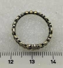 Кольцо с эмалью - 54636