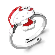 Кольцо с эмалью - 54638