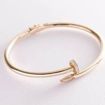 Кольцо с фианитами - 3-002