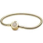 Кольцо с фианитом - 3-003