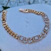 Кольцо с фианитами - 3-009