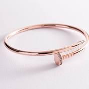 Кольцо с фианитом - 3-013