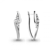 Серьги с кристаллами Swarovski - 44664